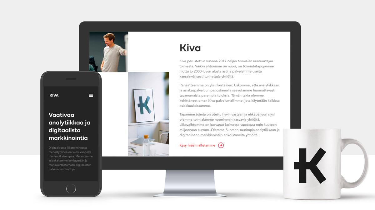 Kiva Helsinki nettisivut
